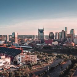 Tennessee Titans Stadium and Downtown Nashville - Nash Rides